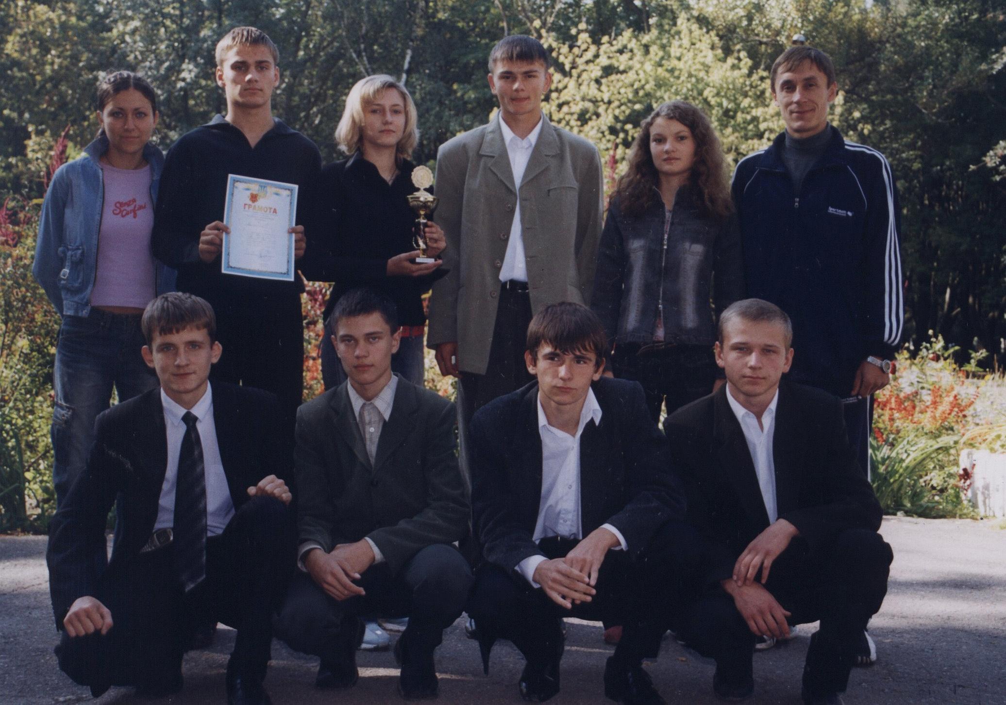 Полтавська гімназія 9 Випуск 2005 Переможці Міжнародного математичного конкурсу «Кенгуру»